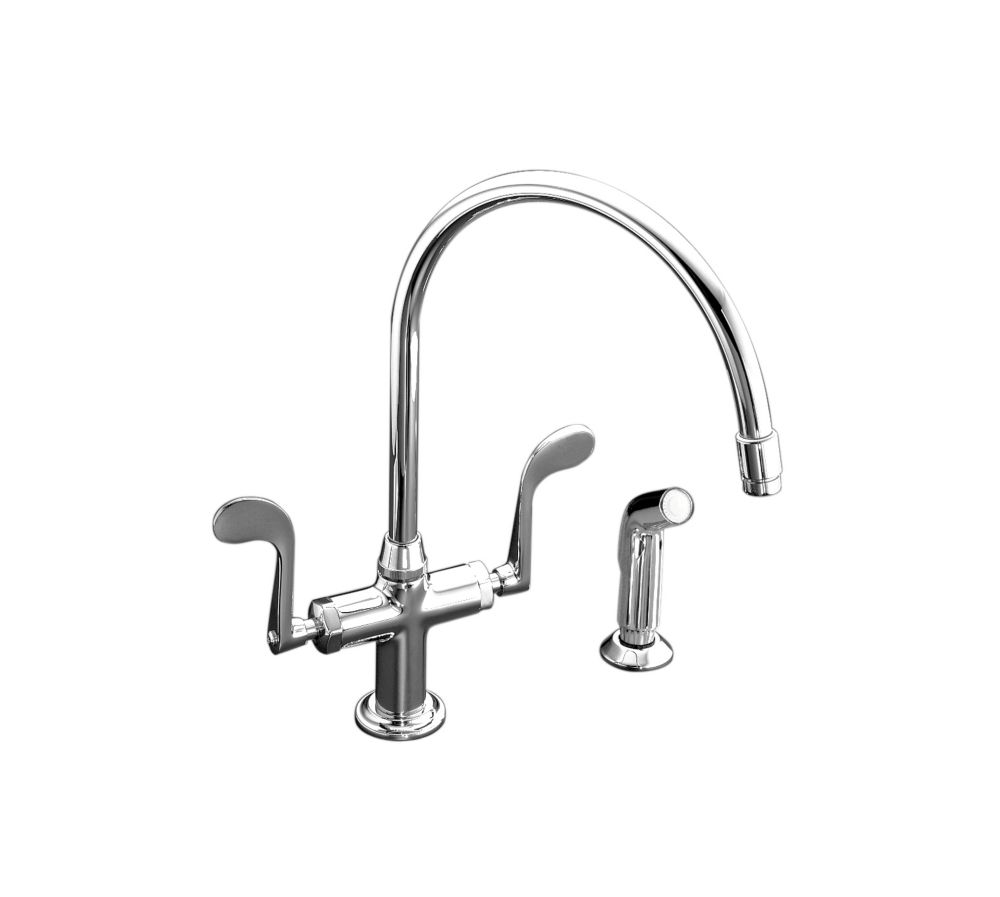 kitchen faucets with side spray in canada