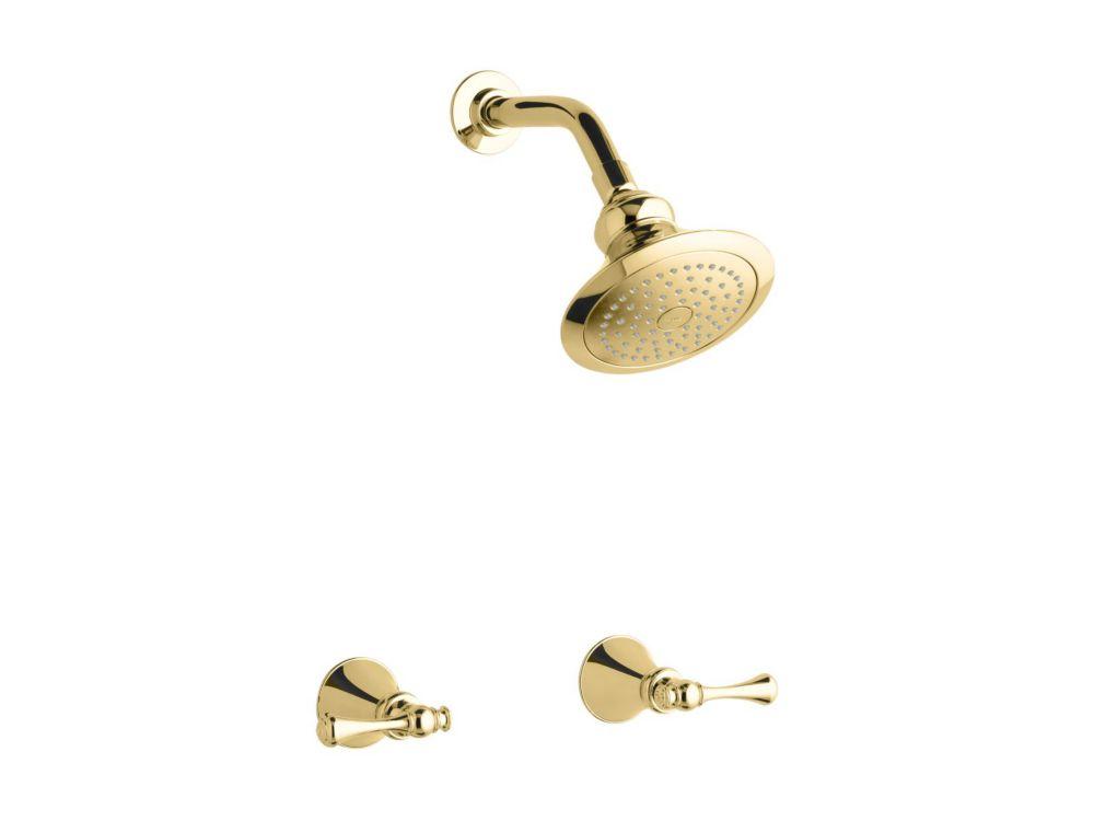 KOHLER Revival Shower Faucet in Vibrant Polished Brass