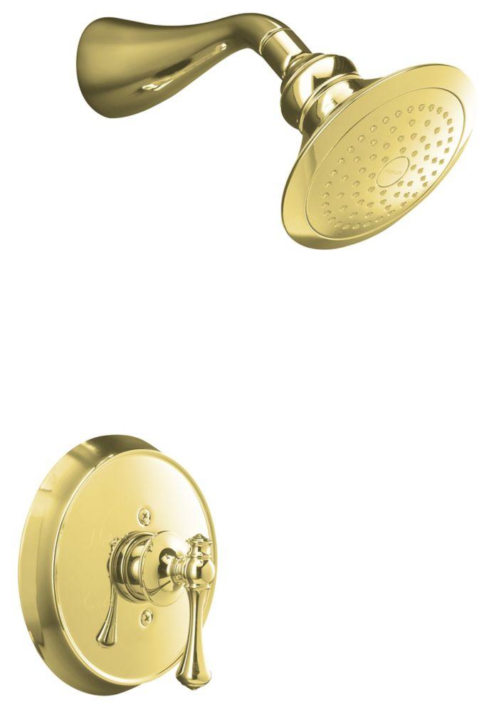 Garniture de robinet à régulation de pression Revival Rite-Temp avec poignée à levier traditionne...