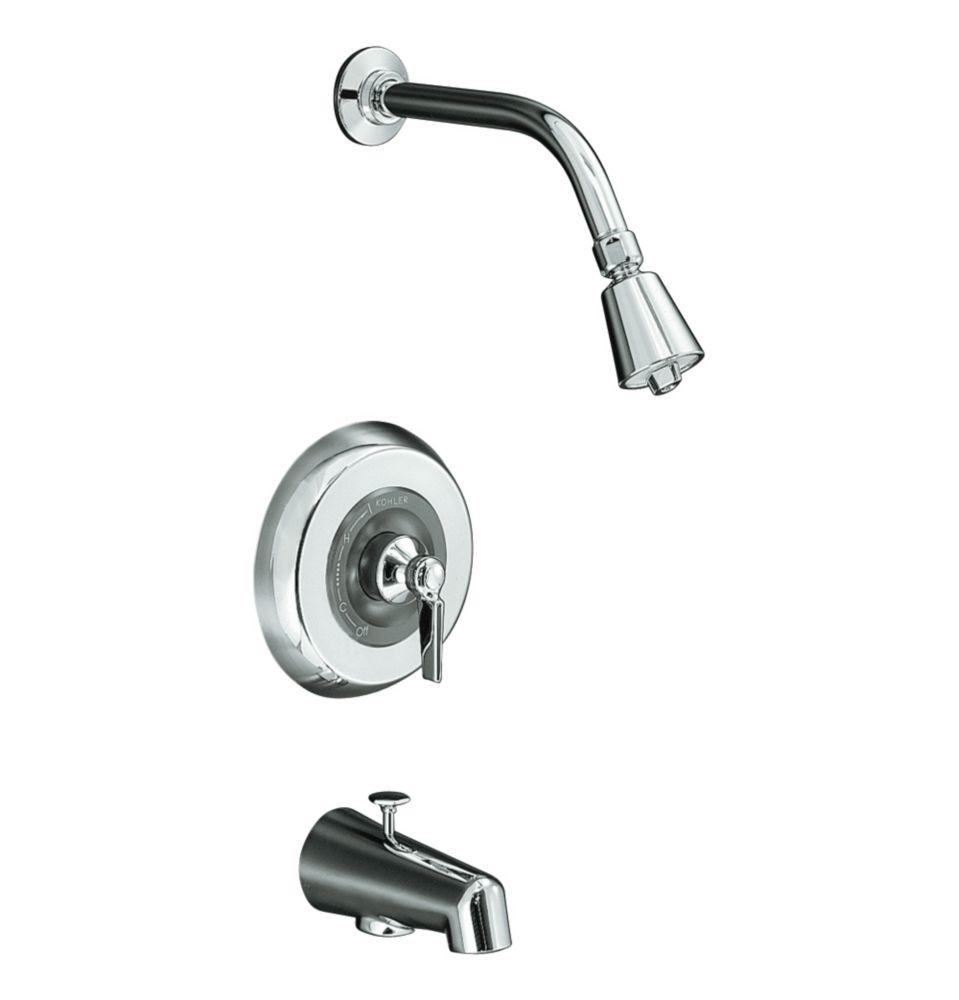 Triton Rite-Temp Pressure-Balancing Valve Faucet in Polished Chrome