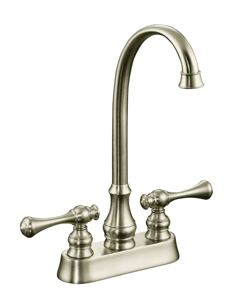 Revival Entertainment Sink Faucet in Vibrant Brushed Nickel Finish