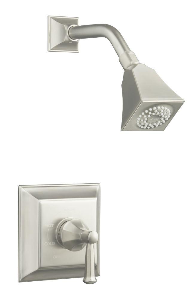 Memoirs Rite-Temp Pressure-Balancing Shower Faucet in Vibrant Brushed Nickel