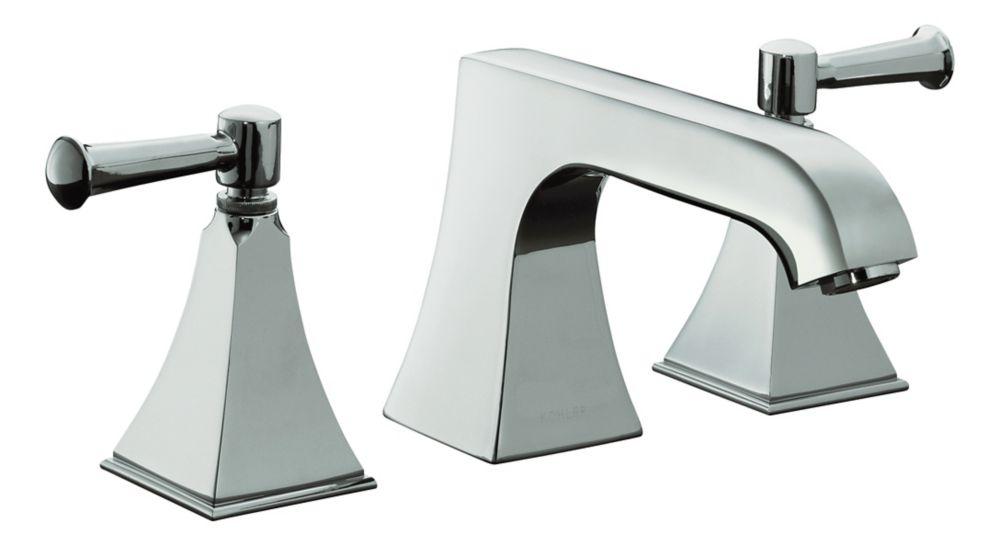 Garniture de robinet de baignoire Memoirs à montage sur comptoir avec désign Stately et poignées ...