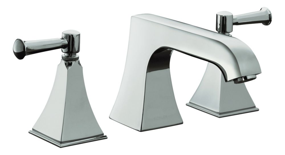 Memoirs Deck-Mount Bathroom Faucet with Stately Design in Polished Chrome Finish