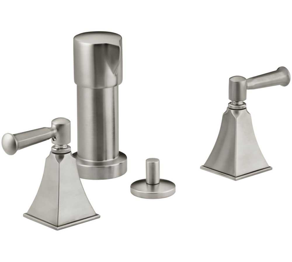 Memoirs Stately Bidet Faucet in Vibrant Brushed Nickel