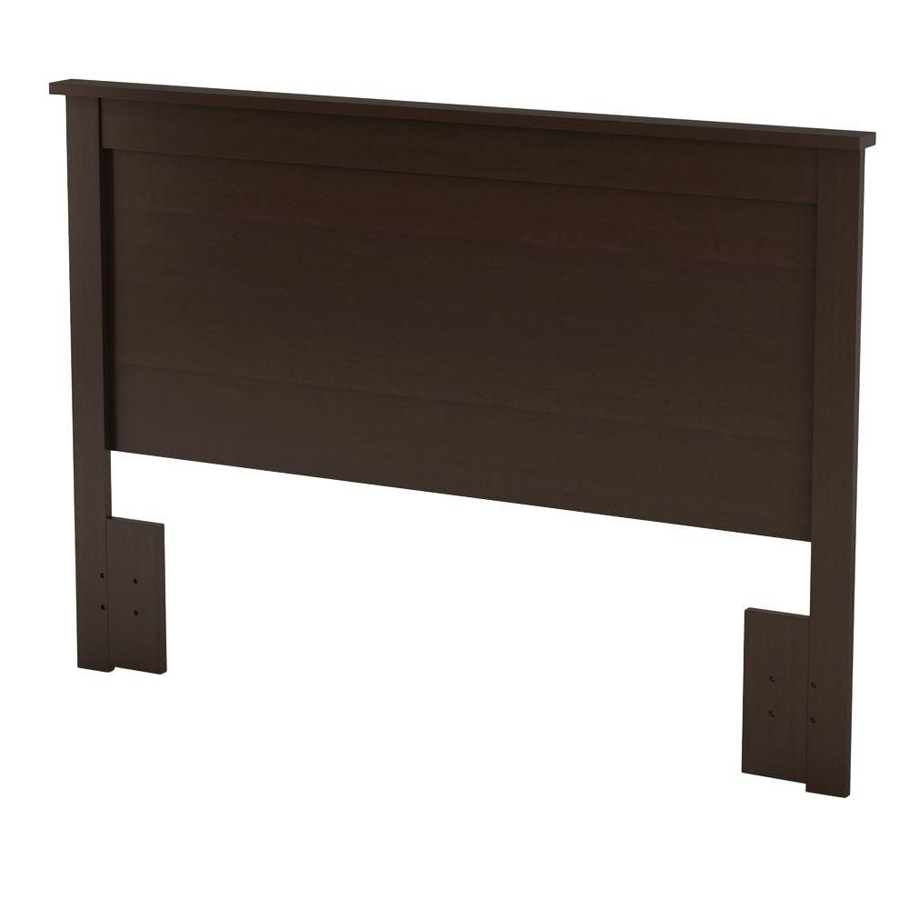 Bel Air, Full/Queen Headboard, Chocolate