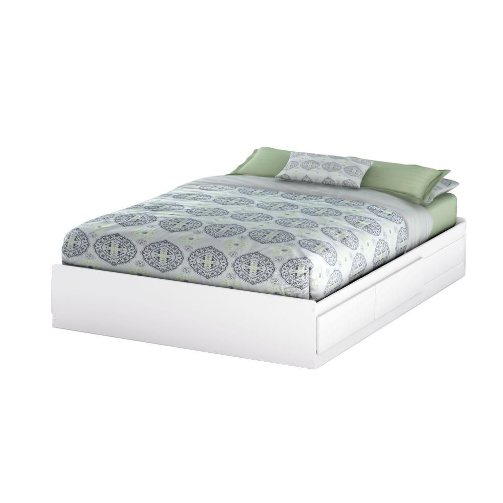 Bel Air, Queen Mates Bed Box, Pure White