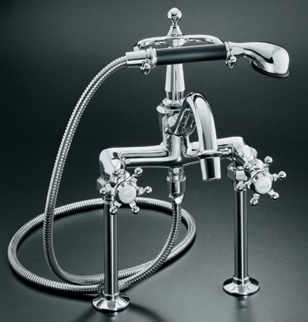 Antique Bath Faucet In Vibrant Brushed Nickel K-110-3-BN Canada Discount