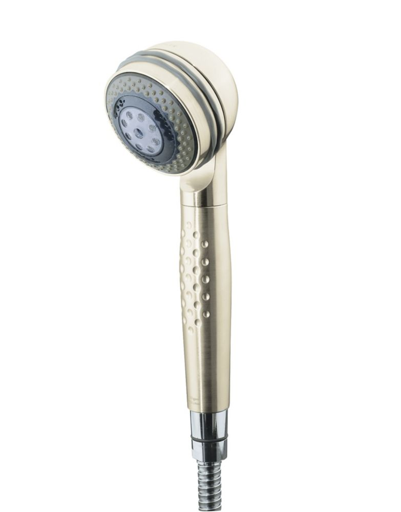 Mastershower 3-Function Relaxing Hand Shower in Vibrant Brushed Nickel