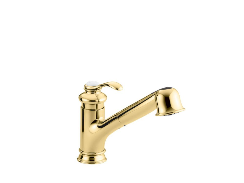 Fairfax Single-Control Kitchen Sink Faucet In Vibrant Polished Brass