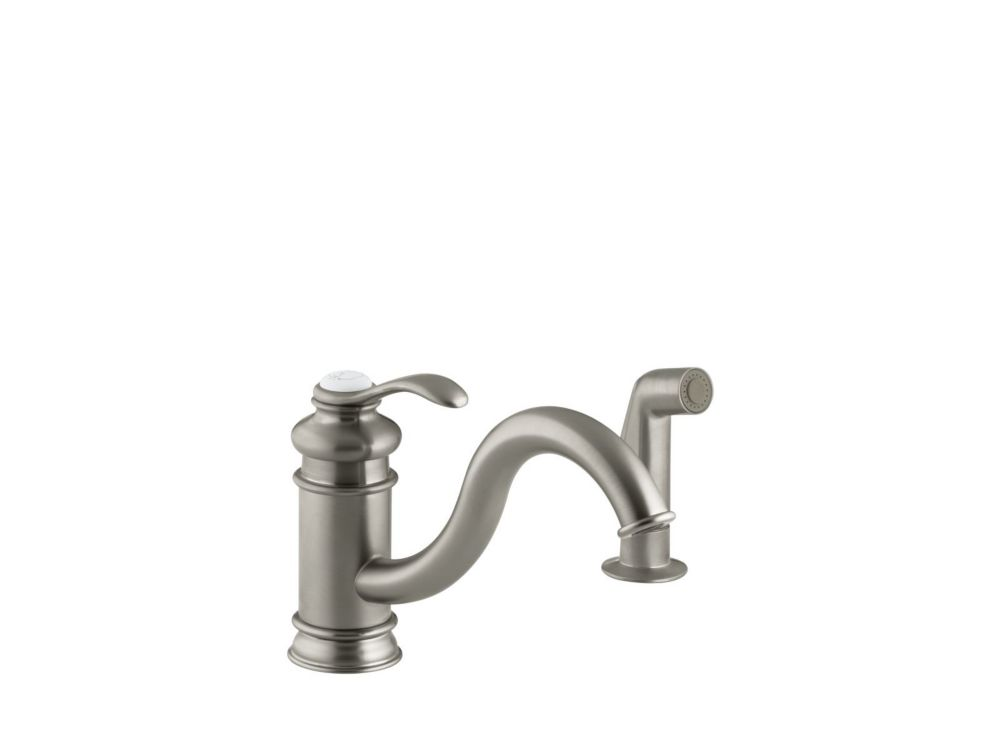 Fairfax Single-Control Kitchen Sink Faucet In Vibrant Brushed Nickel