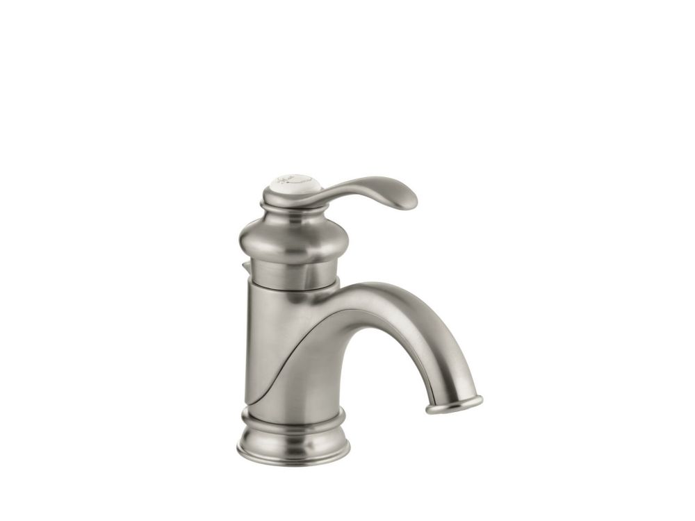 Fairfax Single-Control Bathroom Faucet in Vibrant Brushed Nickel Finish
