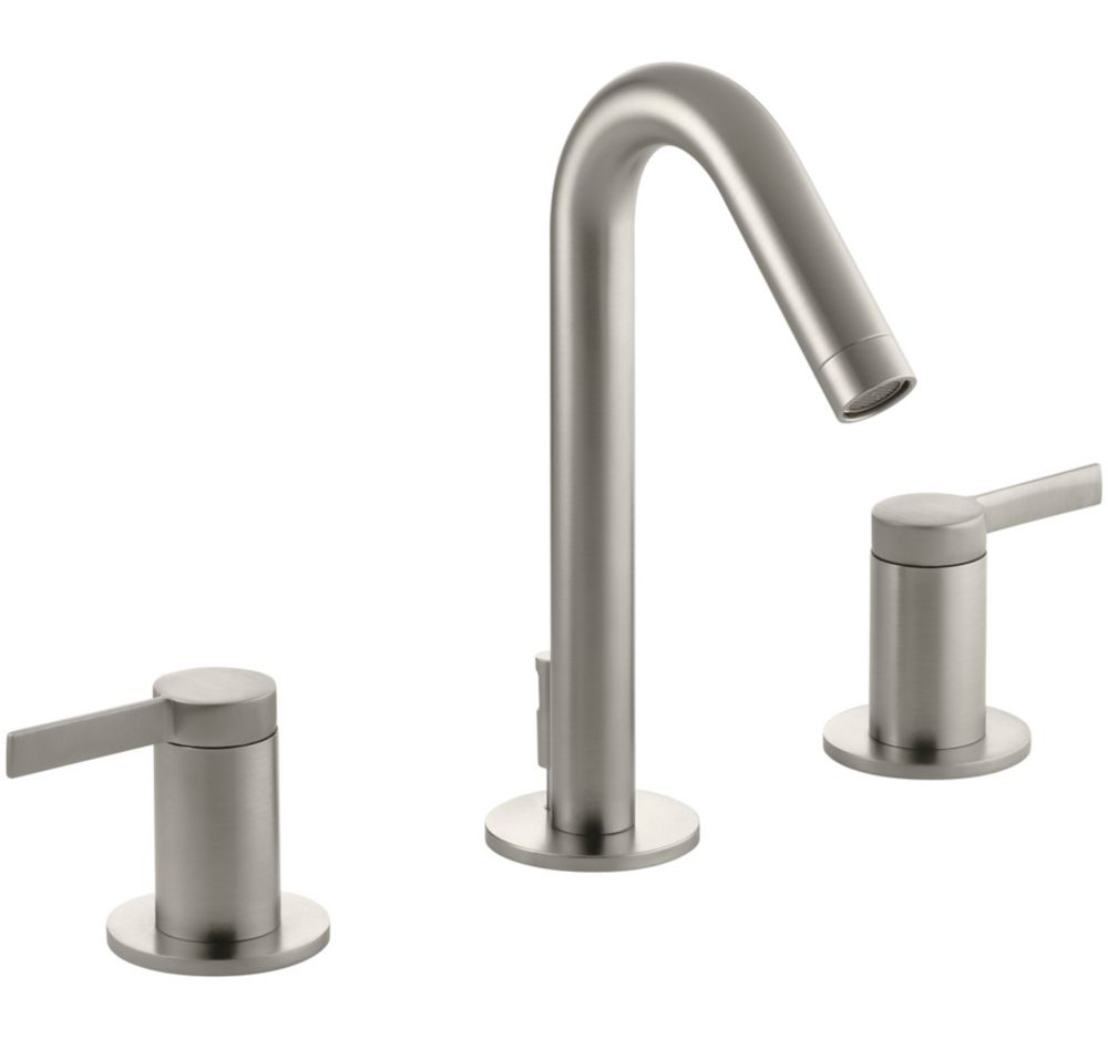 Stillness Widespread Lavatory Faucet In Vibrant Brushed Nickel K-942-4-BN in Canada