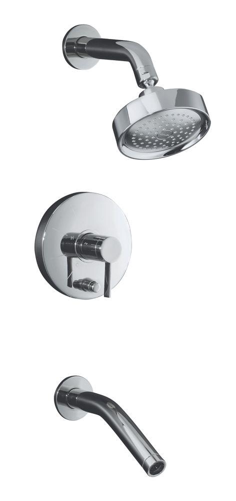 Stillness Rite-Temp Pressure-Balancing Bath/Shower Faucet in Polished Chrome