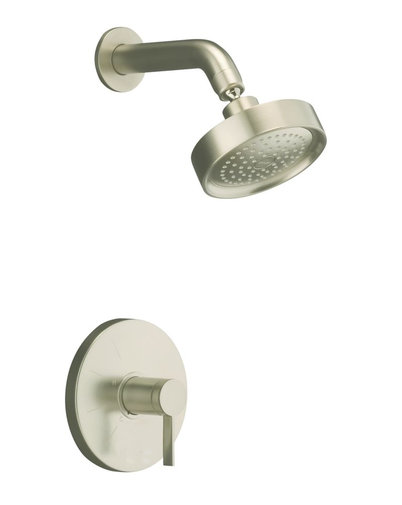 Stillness<sup>®</sup> Rite-Temp<sup>®</sup> Pressure-Balancing Shower Faucet in Vibrant Brushed N...