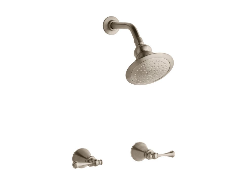 Revival Shower Faucet in Vibrant Brushed Bronze