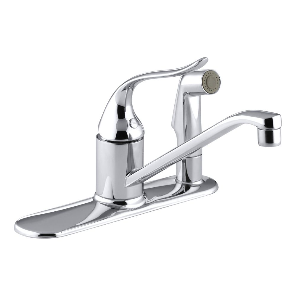 Kitchen Sink Faucets Home Depot: KOHLER Coralais Single-Control Kitchen Sink Faucet In