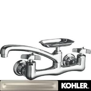 Clearwater Sink Supply Faucet in Vibrant Brushed Nickel Finish