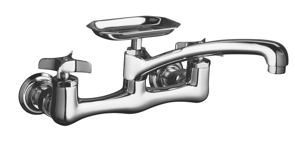 Clearwater Sink Supply Faucet in Polished Chrome Finish