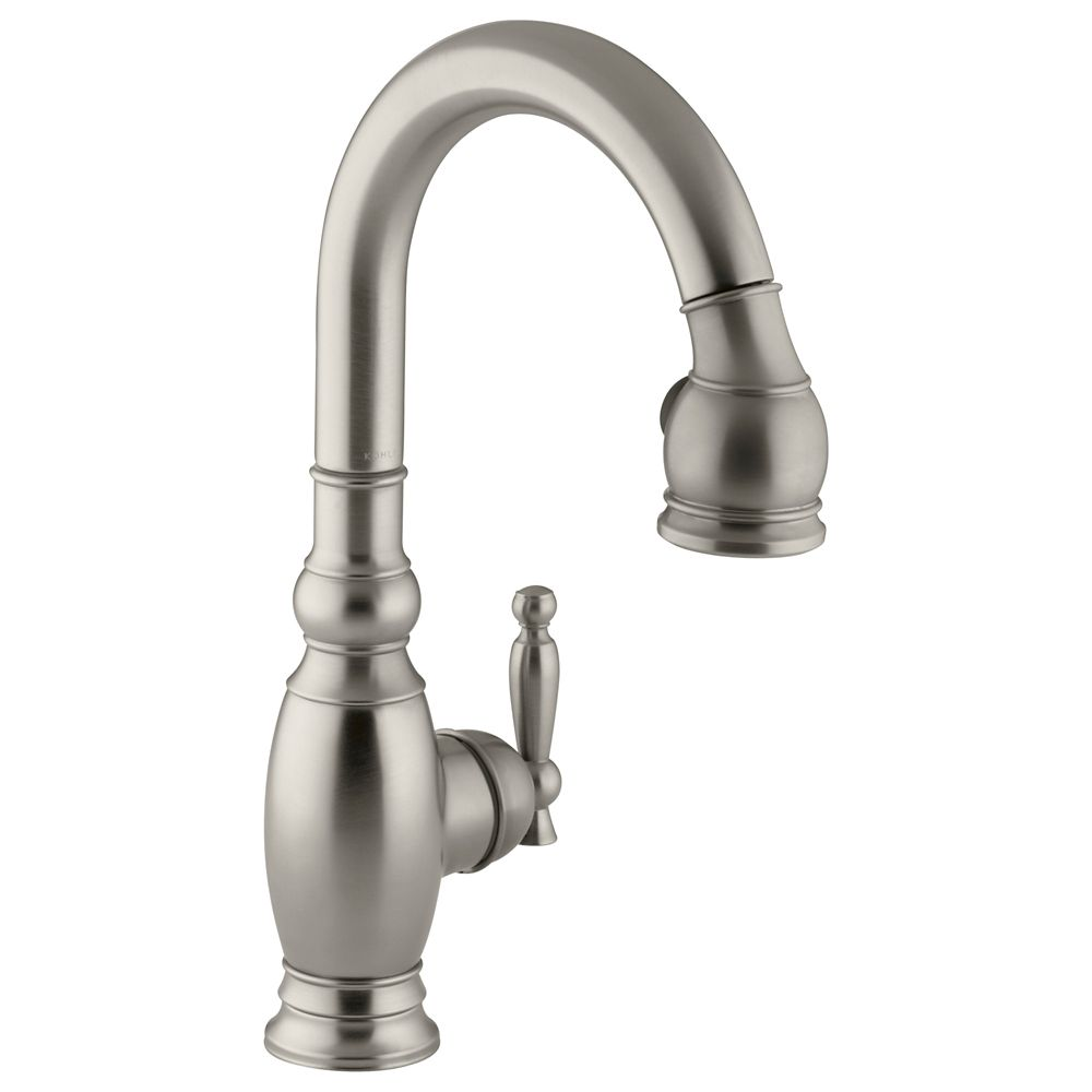 Vinnata Secondary Kitchen Sink Faucet In Vibrant Brushed Nickel