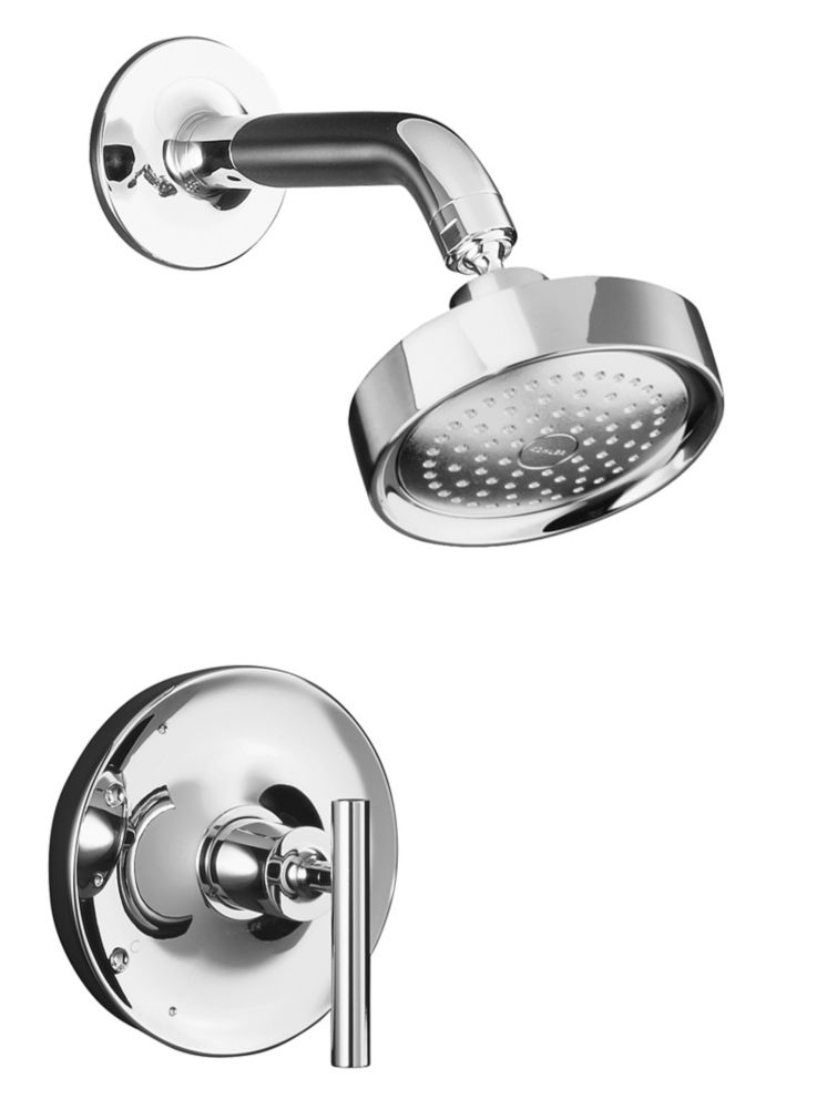 Purist Rite-Temp Pressure-Balancing Shower Faucet Trim, Valve Not Included In Vibrant Polished Nickel K-T14422-4-SN in Canada