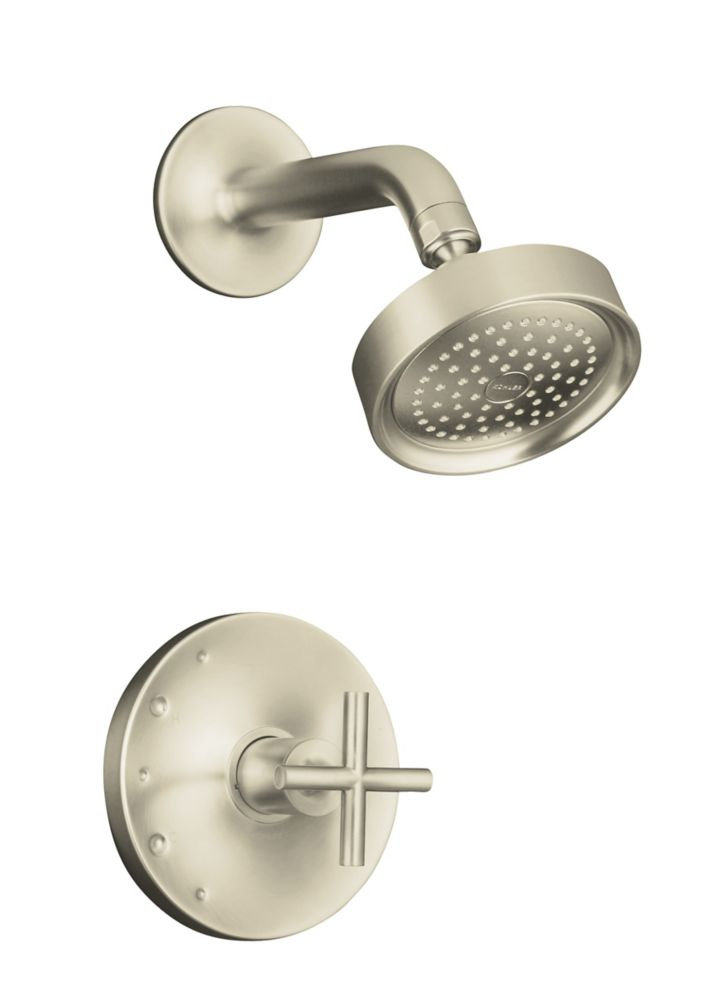 Purist Rite-Temp Pressure-Balancing Shower Faucet in Vibrant Brushed Nickel