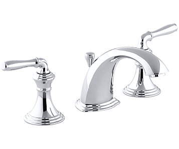 included brushed bathroom handle kohler faucet vibrant pd watersense nickel shop elliston drain widespread faucets