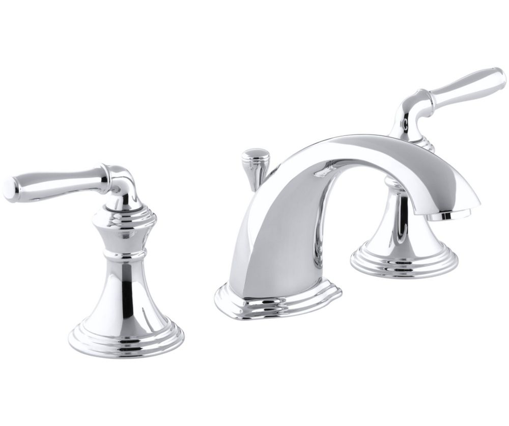 Devonshire Widespread Bathroom Faucet in Polished Chrome Finish