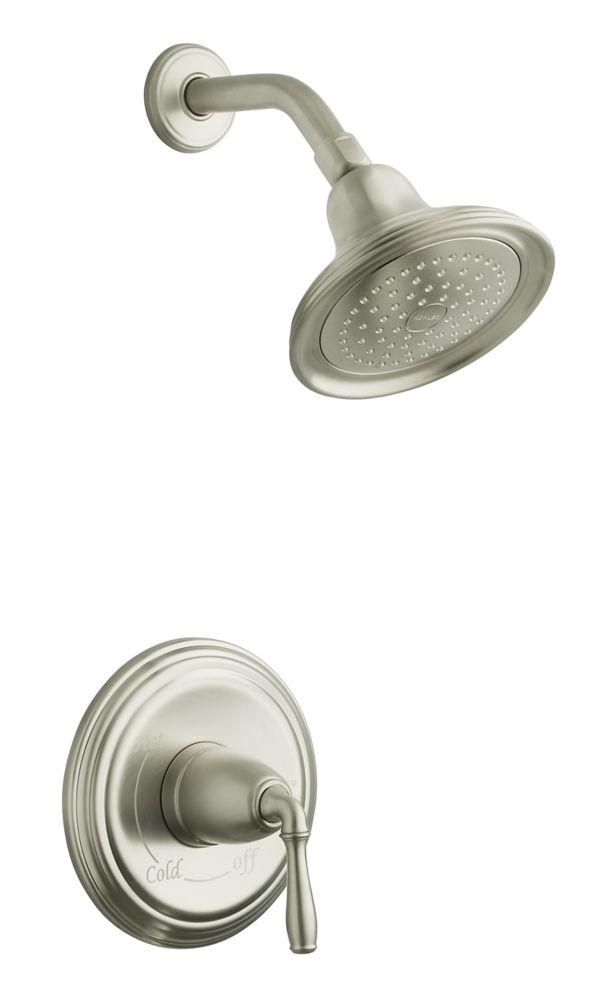 Devonshire Rite-Temp Pressure-Balancing Shower Faucet in Vibrant Brushed Nickel