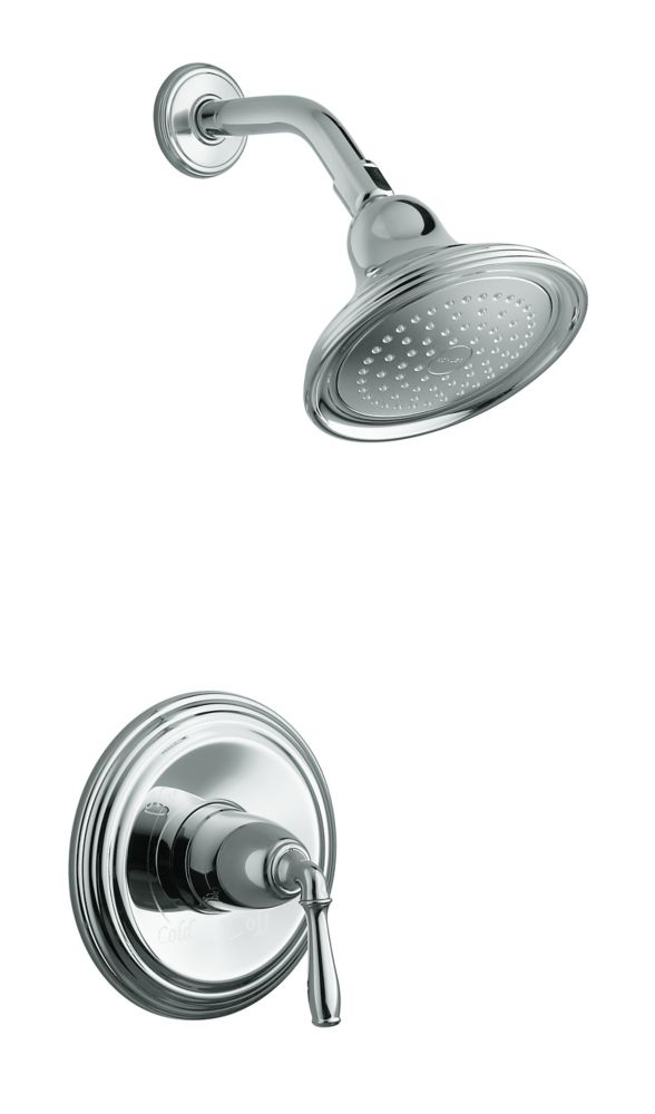 Devonshire Rite-Temp Pressure-Balancing Shower Faucet in Polished Chrome
