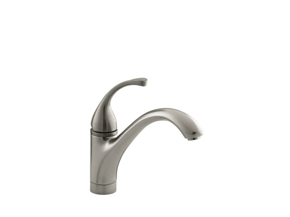 Forté Single-Control Kitchen Sink Faucet With Lever Handle In Vibrant Brushed Nickel