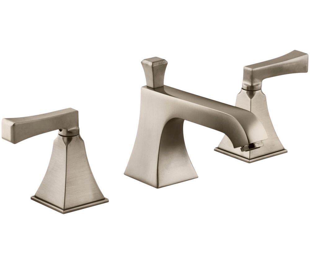 Memoirs Widespread Bathroom Faucet with Stately Design in Vibrant Brushed Bronze Finish