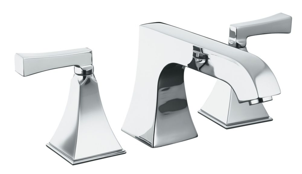 Memoirs Deck-Mount High-Flow Bathroom Faucet in Polished Chrome Finish