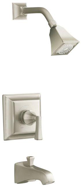 Memoirs Rite-Temp Pressure-Balancing Bath/Shower Faucet in Vibrant Brushed Bronze