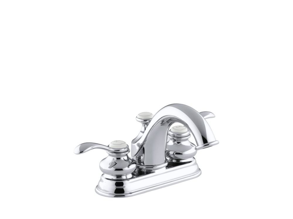 Fairfax Centreset Bathroom Faucet in Polished Chrome Finish
