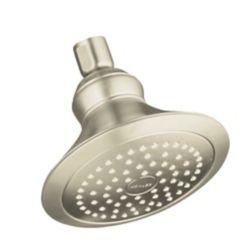 KOHLER Revival Single-Function Showerhead in Vibrant Brushed Nickel
