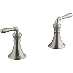 KOHLER Devonshire Deck-Mount Bath Faucet Trim, Valve Not Included In Vibrant Brushed Nickel