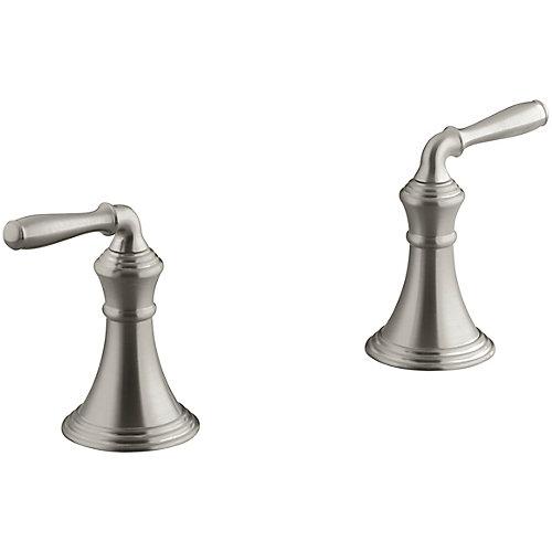 Devonshire Deck-Mount Bath Faucet Trim, Valve Not Included In Vibrant Brushed Nickel