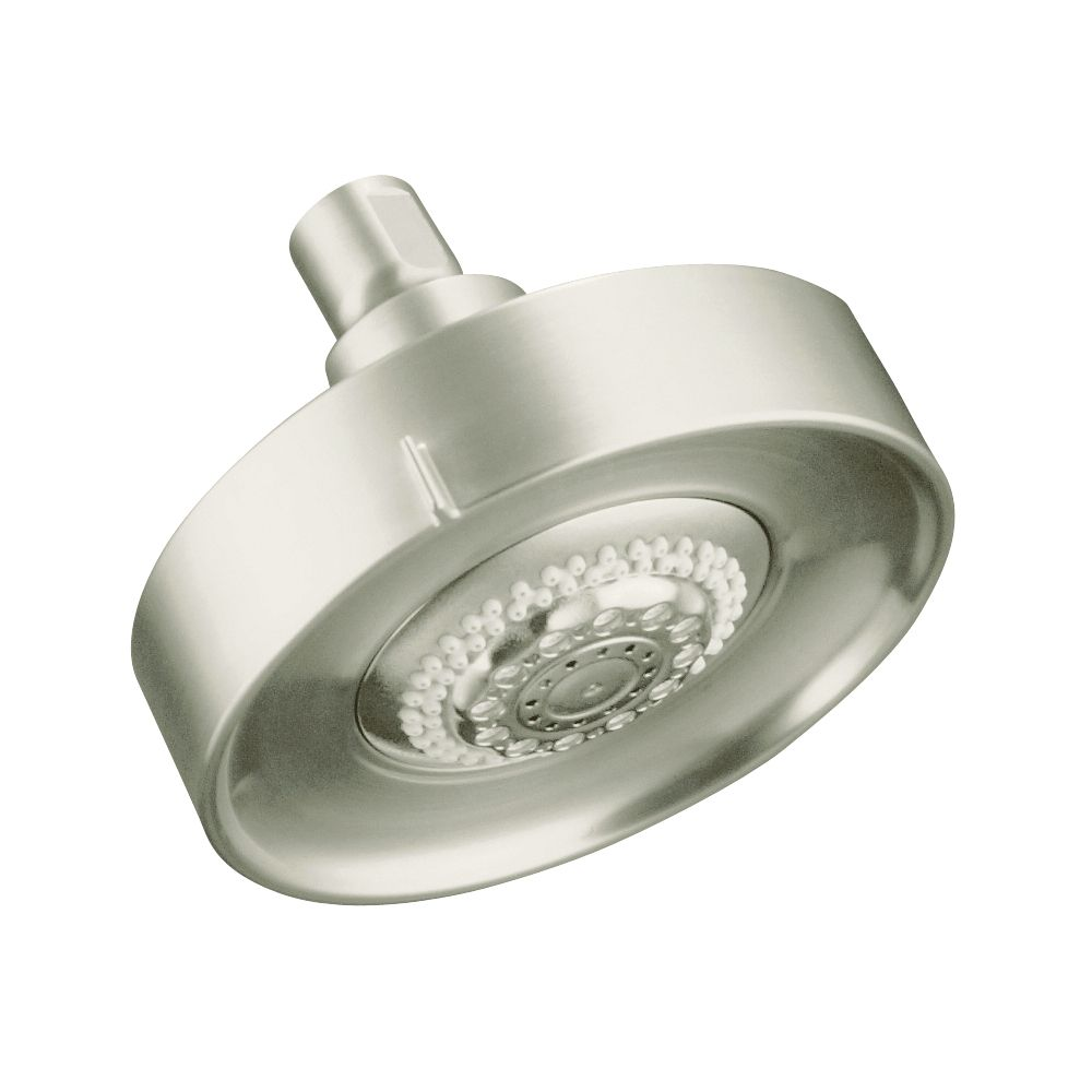Purist/Taboret Multi-Function Showerhead in Vibrant Brushed Nickel