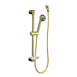 KOHLER Mastershower Hotel Hand Shower Kit in Vibrant Polished Brass