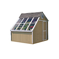 Phoenix 10 ft. x 8 ft. Solar Shed with Floor