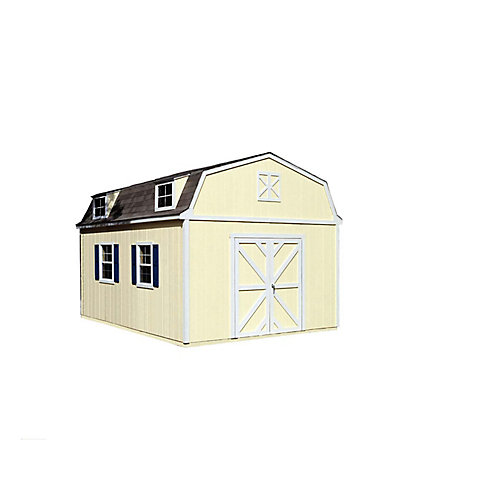 Sequoia 12 ft. x 16 ft. Storage Building Kit