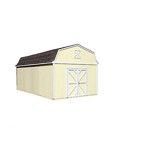 Sequoia 12 ft. x 24 ft. Storage Building Kit with Floor