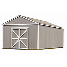 Columbia 12 ft. x 24 ft. Storage Building Kit with Floor