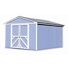 Somerset 10 ft. x 14 ft. Storage Building Kit with Floor