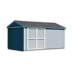 Somerset 10 ft. x 18 ft. Storage Building Kit with Floor