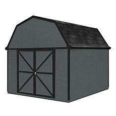 10 ft. x 10 ft. Berkley Storage Building Kit with Floor