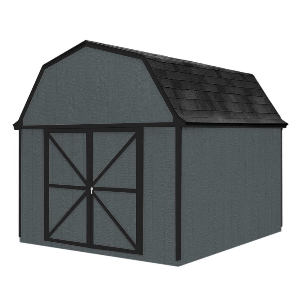 Berkley  Storage Building Kit with Floor -  (10 Ft. x 10 Ft.)