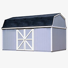 Berkley 10 ft. x 18 ft. Storage Building Kit with Floor