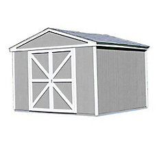 10 ft. x 8 ft. Somerset Storage Building Kit